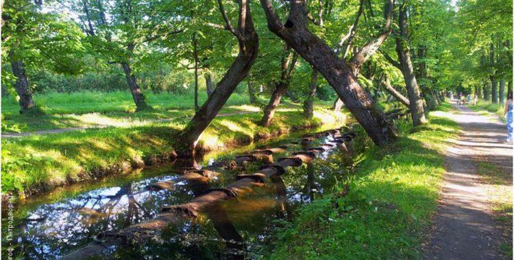 Фонтанная водная система Петергофа