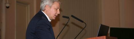 А.Э. Решетов выступил с докладом о проблемах мелиорации в Агрофизическом  НИИ