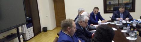 А.Э. Решетов принял участие в совещании АПК Ленинградской области с участием депутата государственной думы С.В. Яхнюком